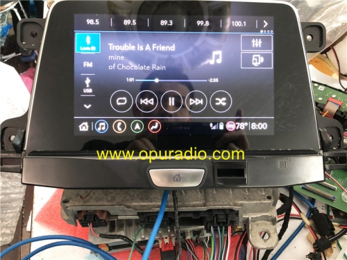 Wiring Tester With Emulator for 2019 2020 Cadillac XT4 Info 3.5 3.0 Car Navigation Carplay