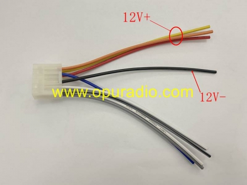 Wiring Harness cable connector for 13-16 Toyota Camry Corolla Fujitsu Radio CD Player